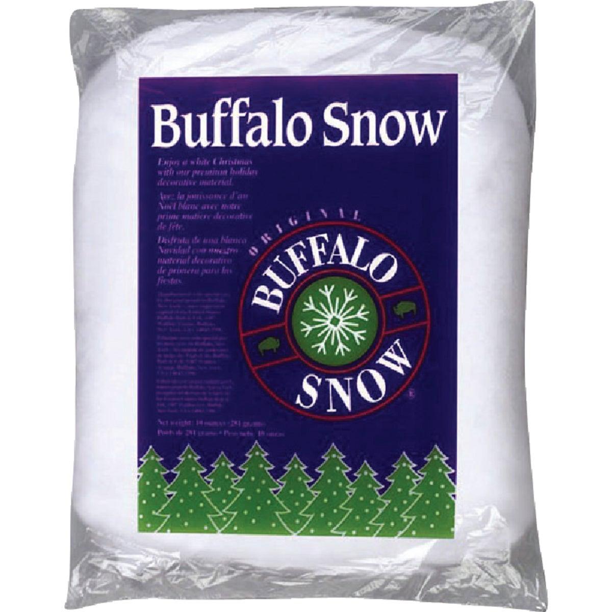 Buffalo Snow 10OZ WHT POLY FLUFF CB0406
