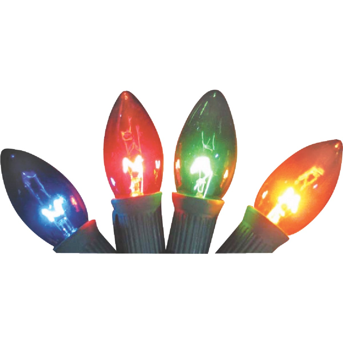 4PK C9 MULTI TRANS BULB