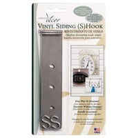 Christmas Mountain 2PK VINYL SIDING S HOOK VSH06