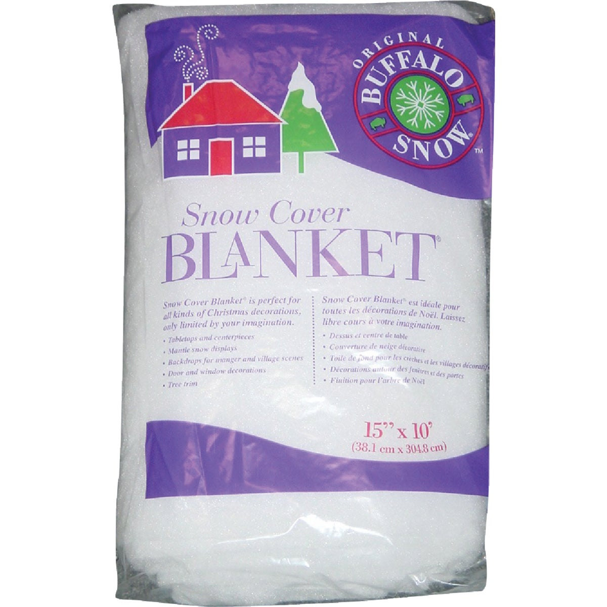 15X10 SNOW BLANKET - CB2351 by Polyester Fibers