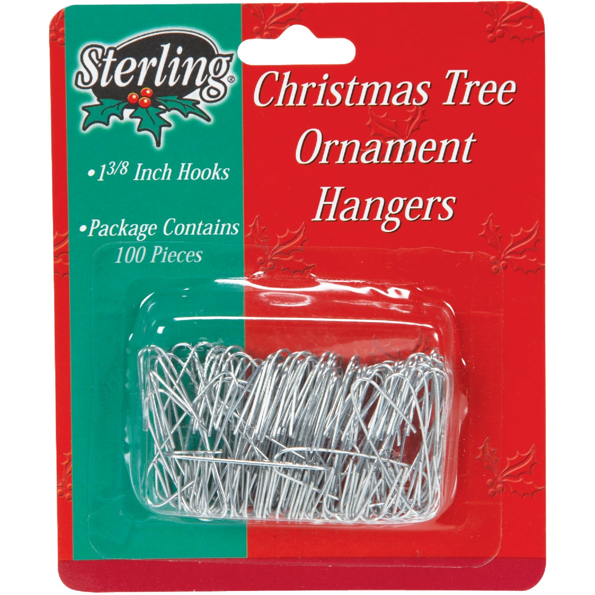 100PK REG ORNAMENT HOOK - 100200 by Sterling