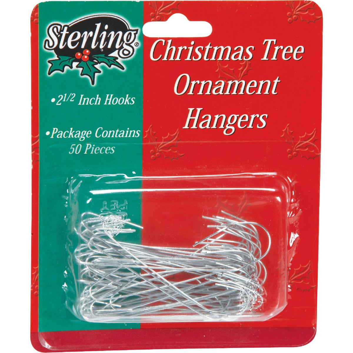 50PK JUMBO ORNAMENT HOOK - 100100 by Sterling