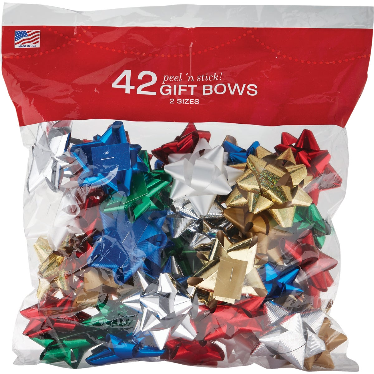 45CT BAG TIDINGS/JOY BOW - 14101896-BG45 by Berwick Offray Llc