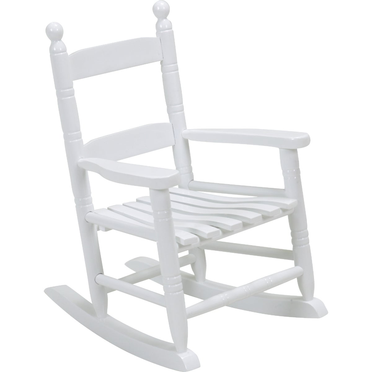 WHITE CHILD'S ROCKER - KN-10-W by Jackpost   Fuzhou
