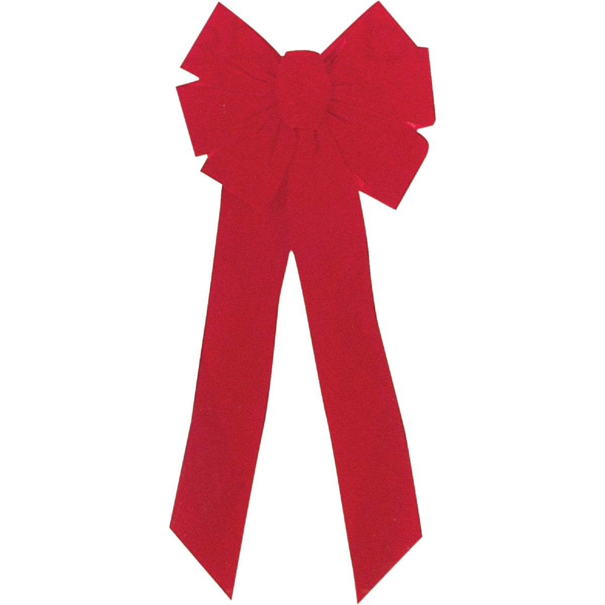 10X21 7-LOOP RED BOW