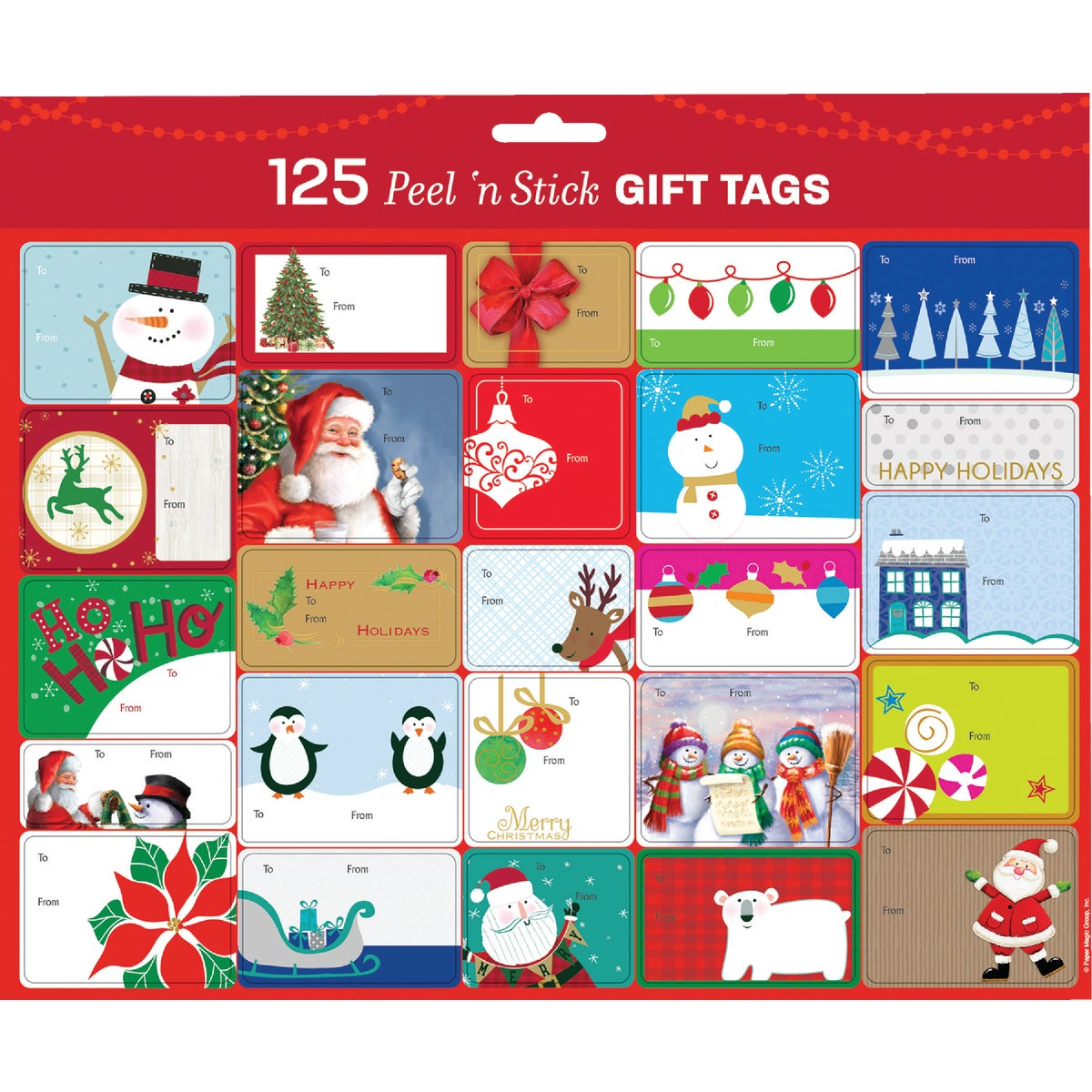 "125CT 1"" GIFT TAGS - 979423 by Berwick Offray Llc"