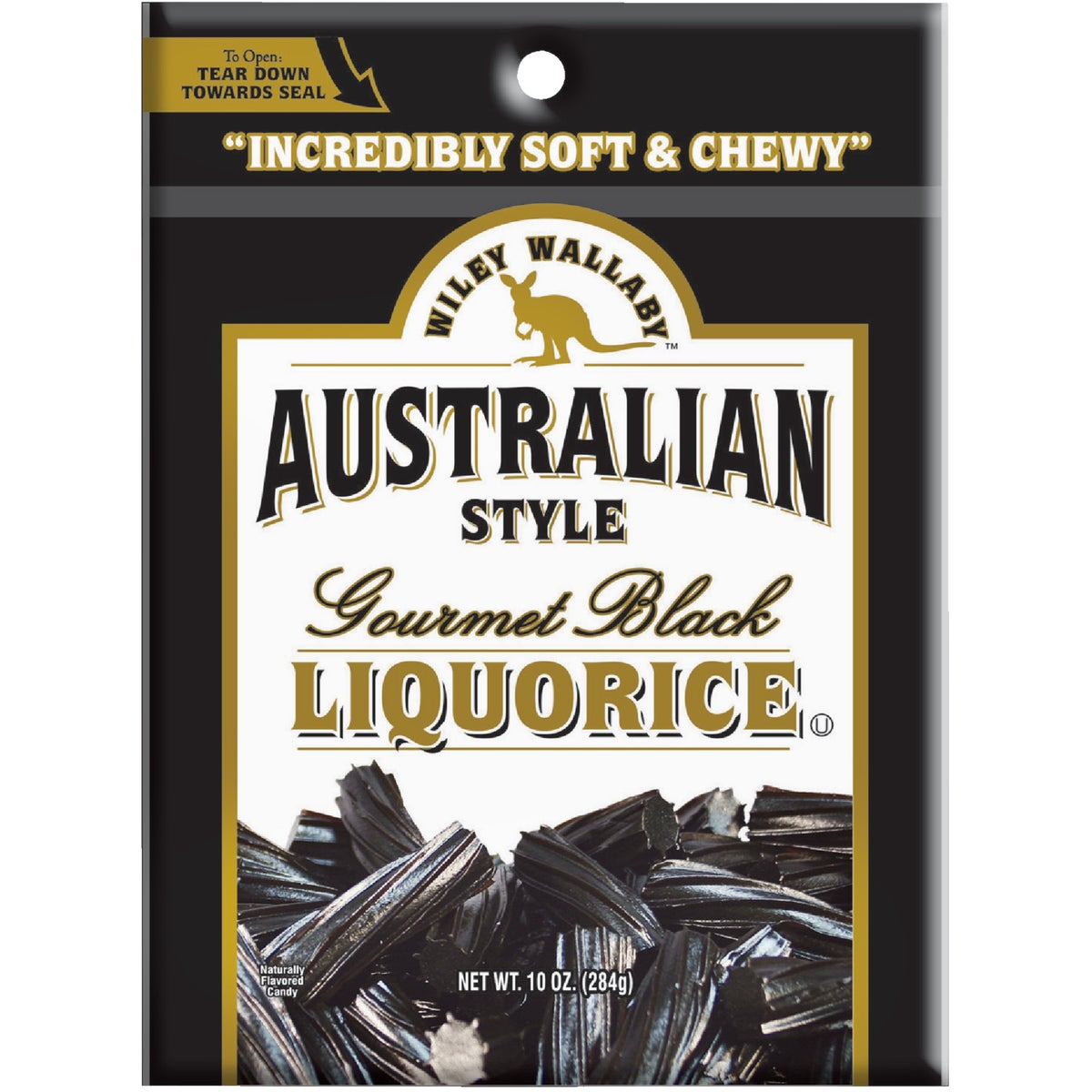 10OZ AUST BLK LICORICE - 114569 by Liberty Distribution