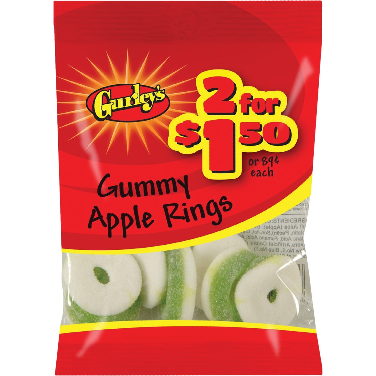 2.75OZ APPLE RINGS - 10032 by Farleys  Sathers