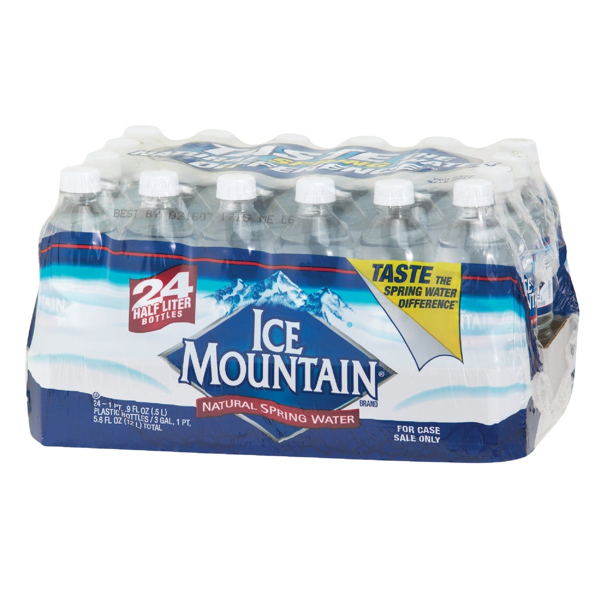 24PK .5L SPRING WATER - 11476171 by Nestle Water