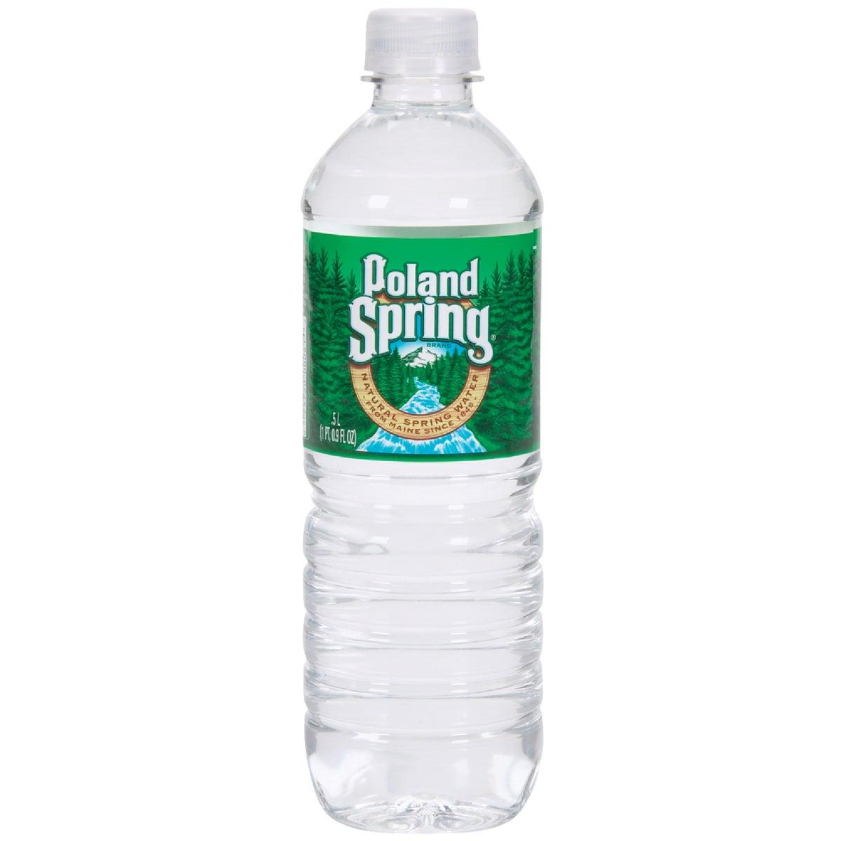 24PK .5L SPRING WATER