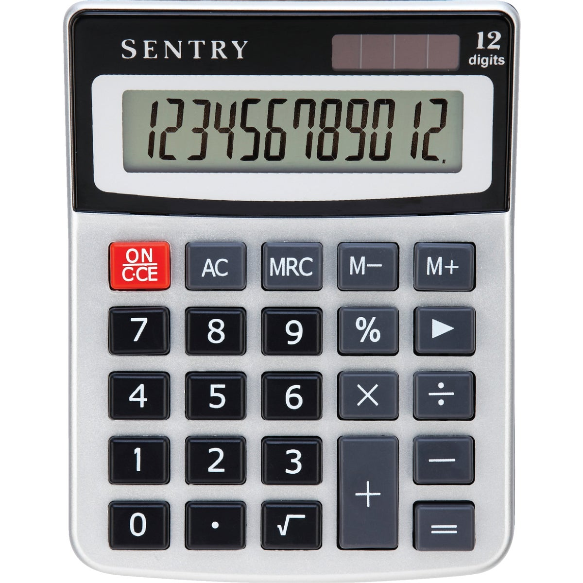 MINI DESK CALCULATOR - CA272 by Sentry Industries