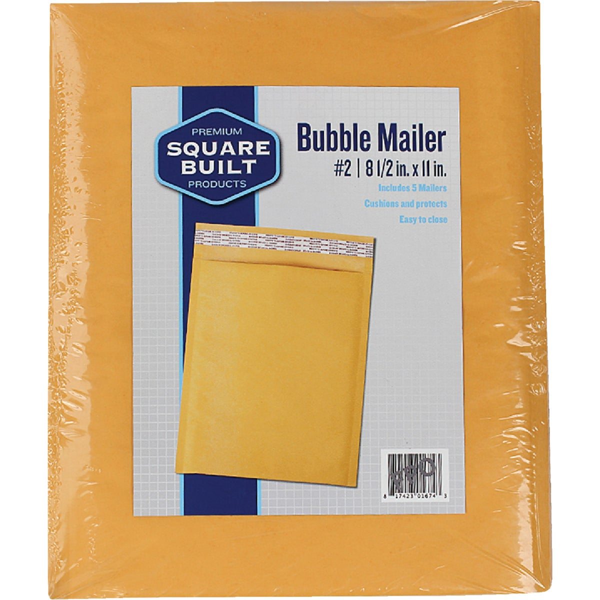 #2 BUBBLE MAILER - RBM812-4 by Broadway Industries