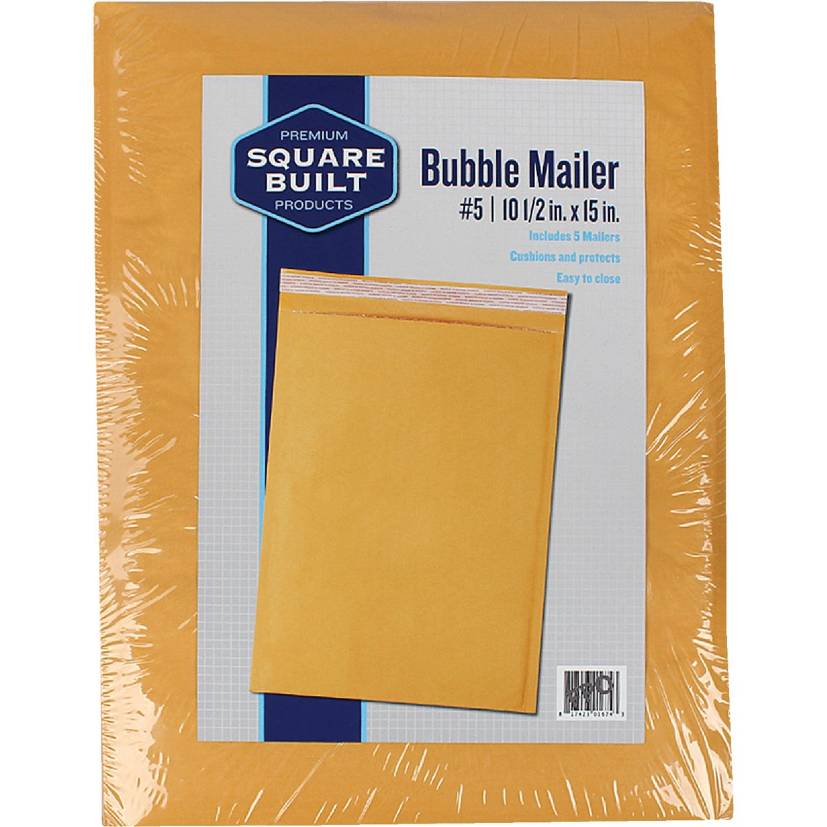#6 BUBBLE MAILER - RBM1219-4 by Broadway Industries