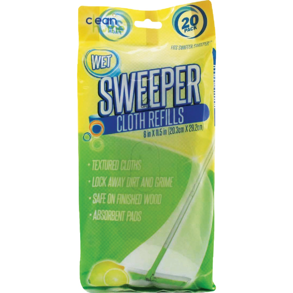 WET FLOOR WIPES