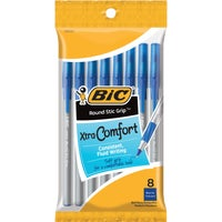 Bic Corporation 8PK BLUE RND STIC PEN GSMGP81-BLU