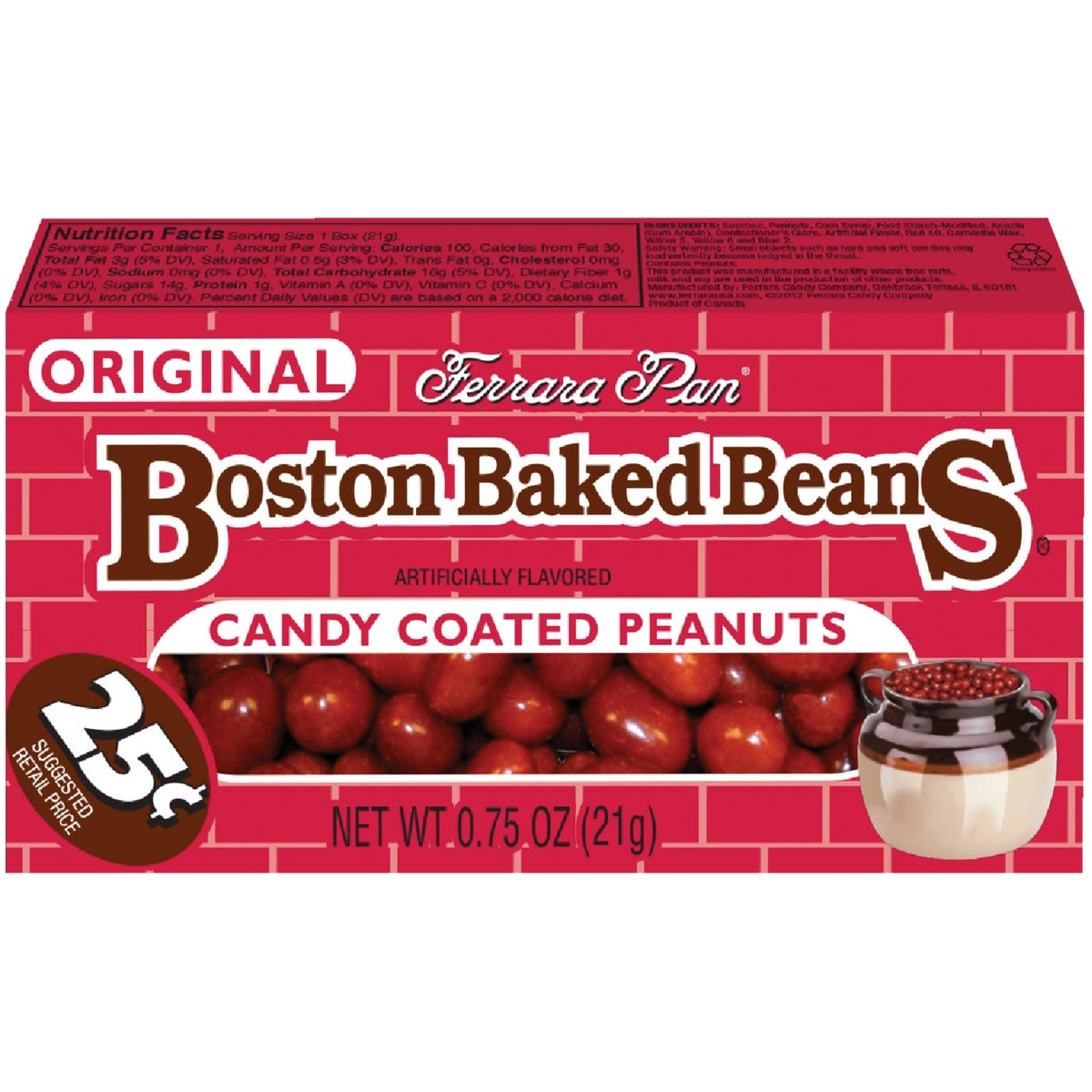 $0.25 BOSTON BAKED BEANS