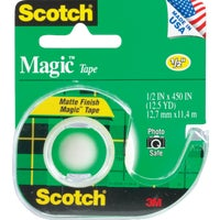 3M 1/2X450 TRANSPARENT TAPE 104