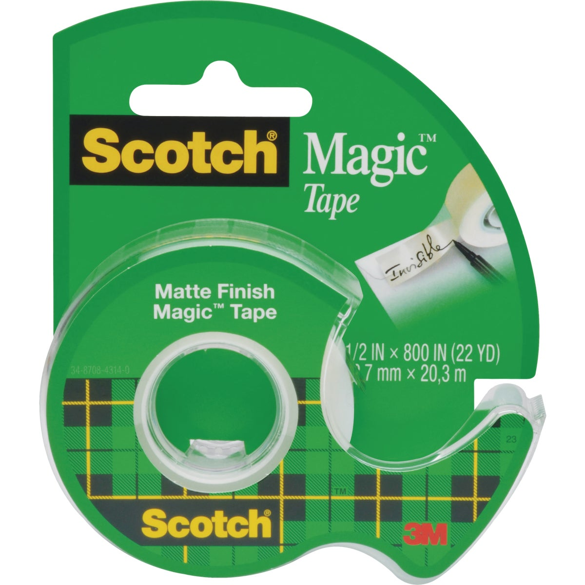 1/2X800 TRANSPARENT TAPE - 119 by 3m Co