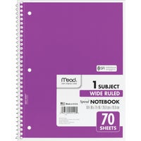 United Stationers 70 SHEET 8X10.5 NOTEBOOK MEA05510