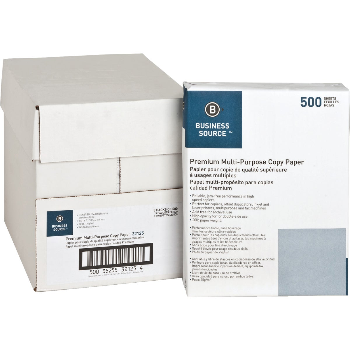 500CT COPY PAPER - UNV11289 by United Stationers