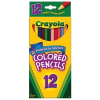 Crayola L L C 12CT COLORED PENCILS 68-4012