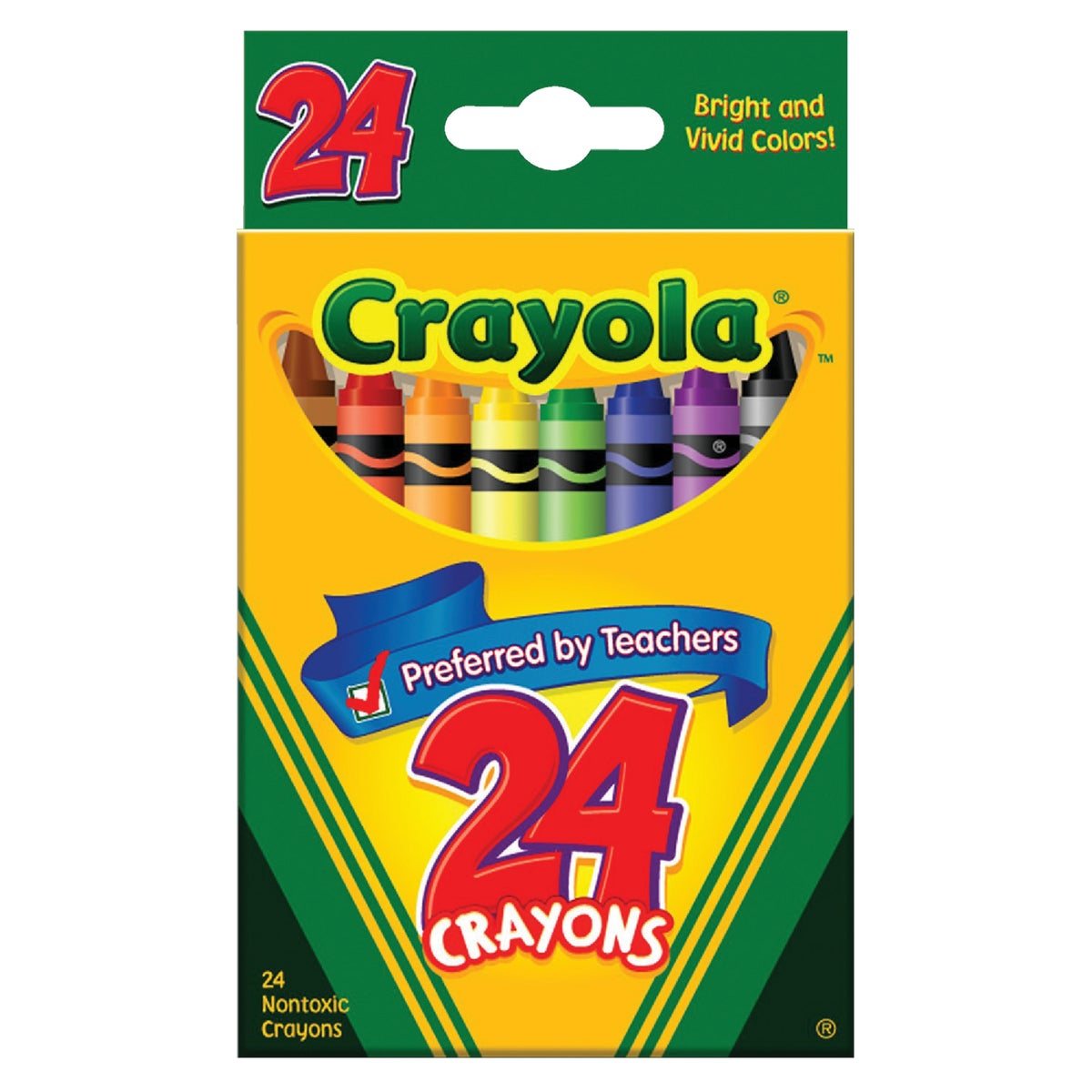 24CT CRAYONS - 52-3024 by Crayola L L C