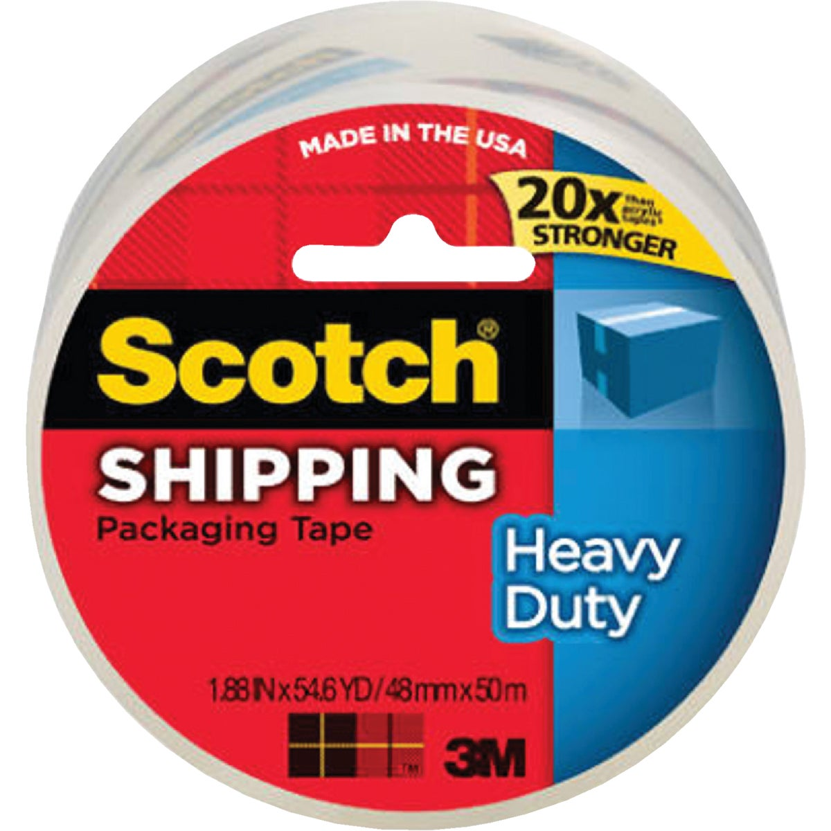 "1.88""X54.6YD SEALNG TAPE - 3850 by 3m Co"