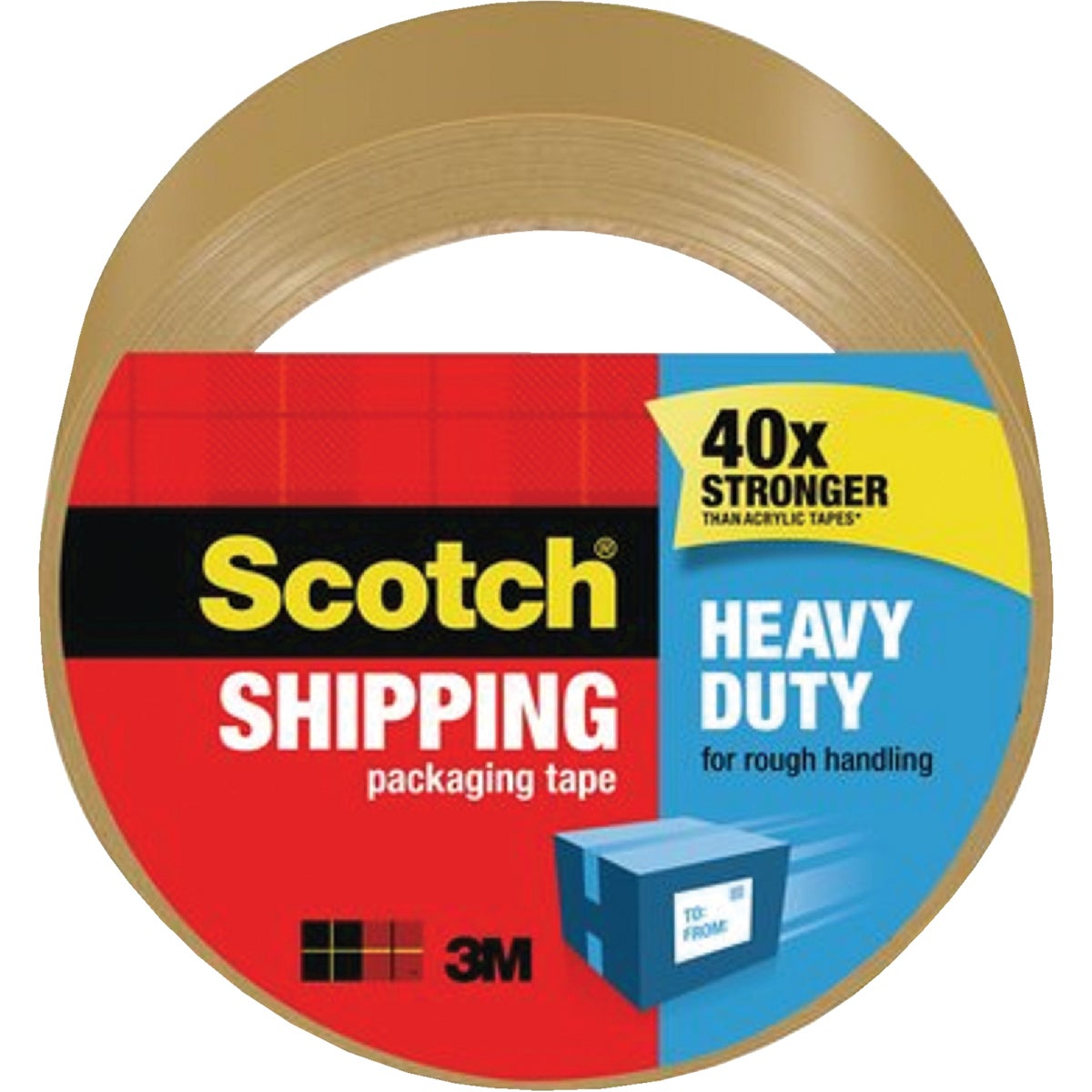 "1.88""X54.6YD TAN TAPE - 3850T by 3m Co"