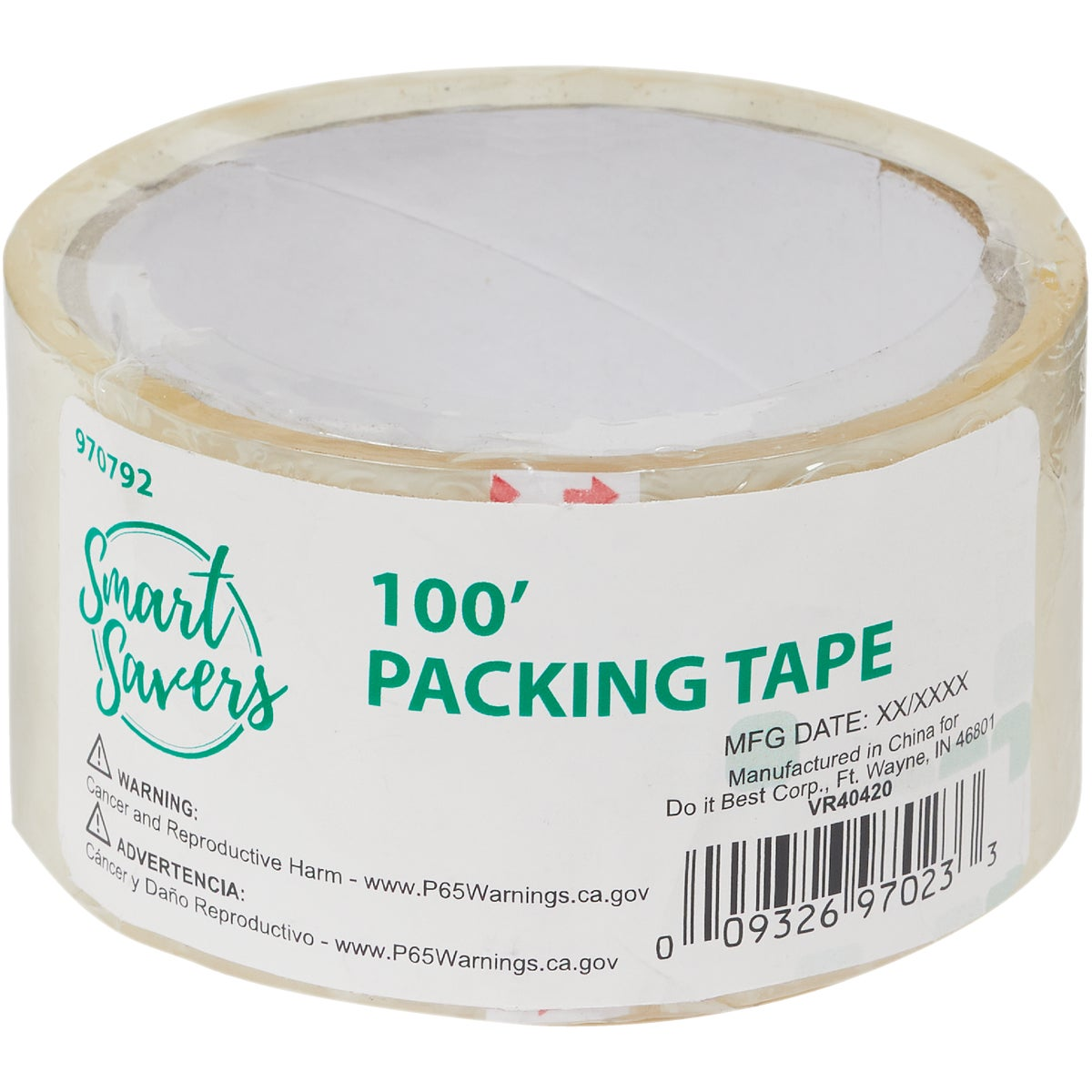 2PK PACKING TAPE - CC101053 by Do it Best