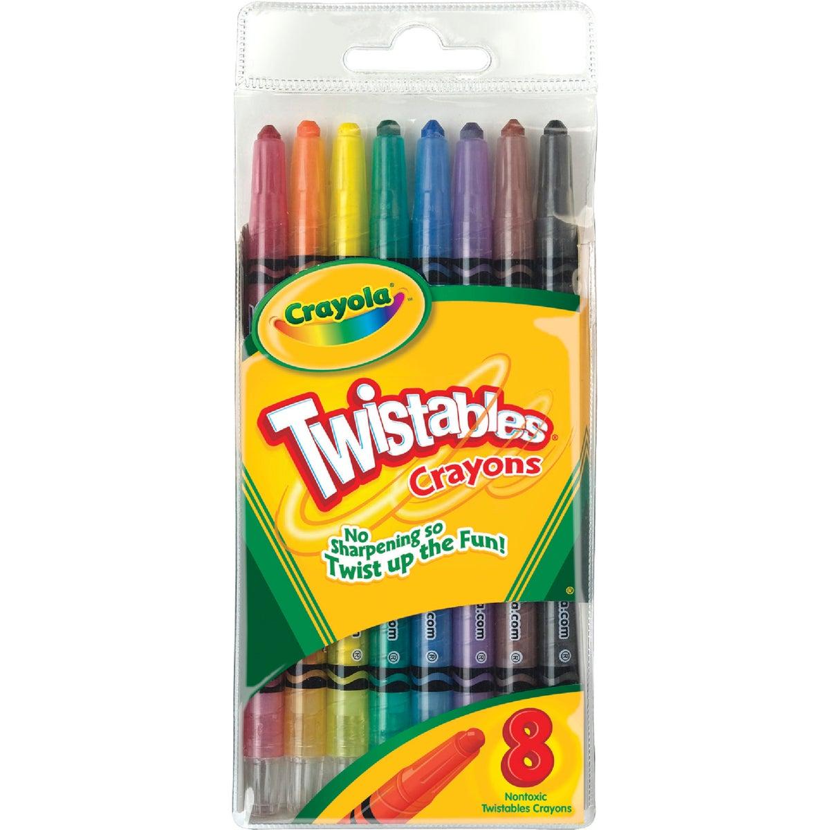 8PK TWIST CRAYON - 52-7408 by Crayola L L C