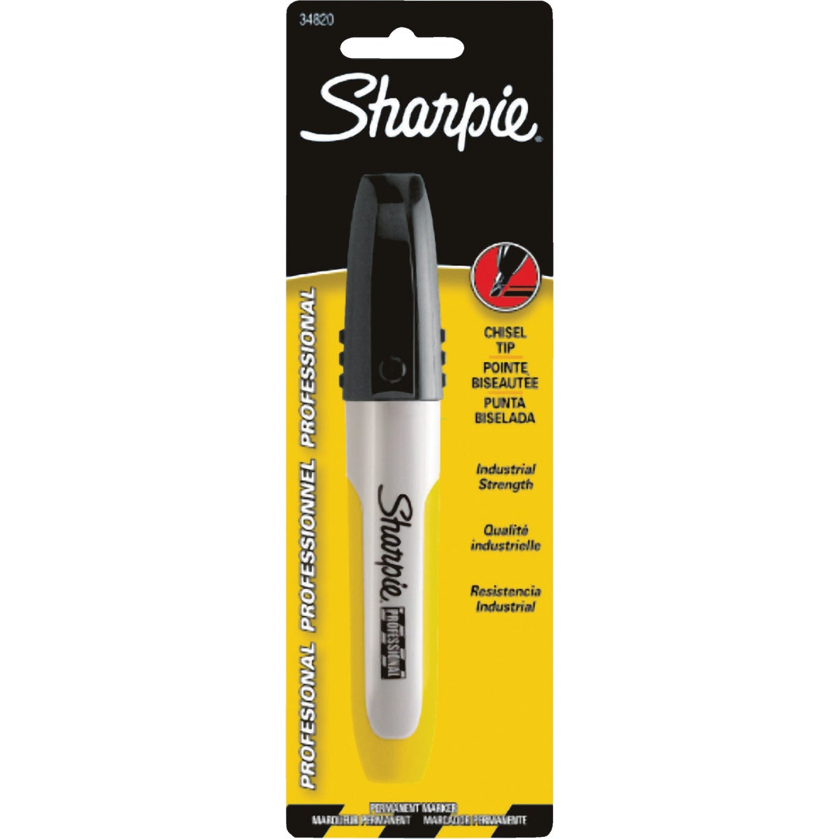 BLK PROFESSIONAL SHARPIE - 34820 by Sanford Corp 01747