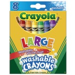 ***8CT WASHABLE CRAYONS