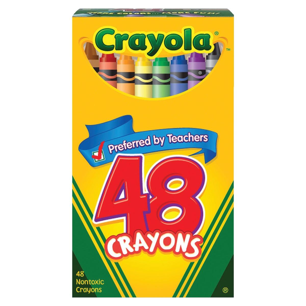 48CT CRAYONS