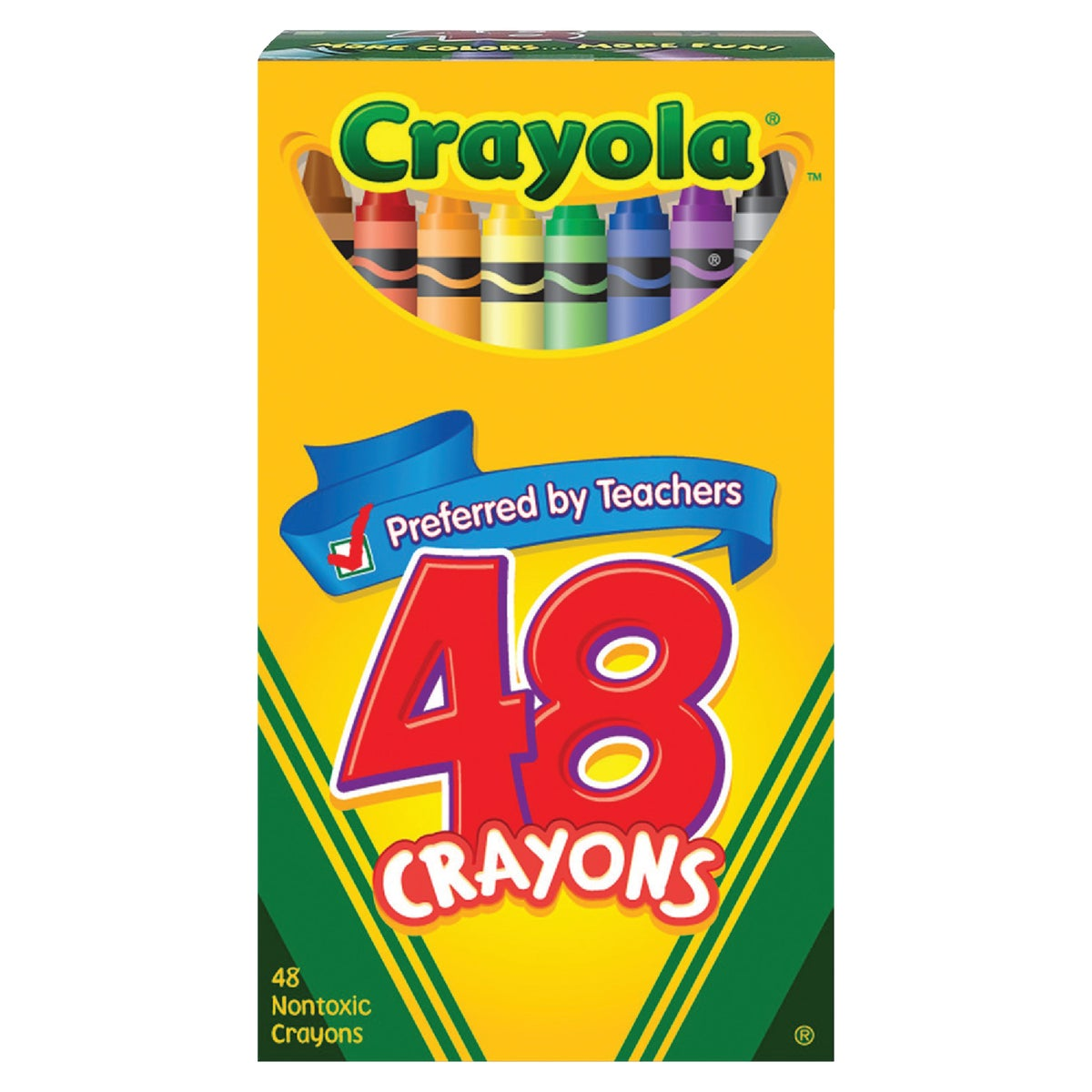 48CT CRAYONS - 52-0048 by Crayola L L C