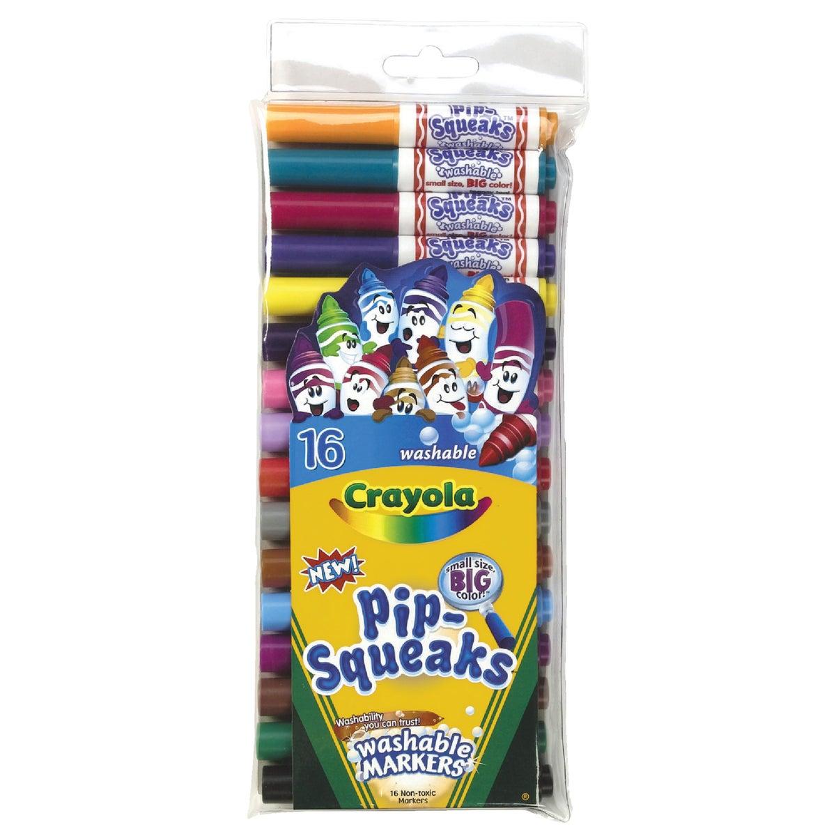 Crayola L L C 16PK PIPSQUEAK MARKER 58-8703