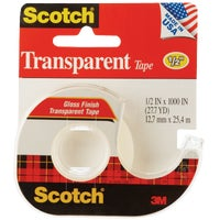 3M 1/2X1000 TRANSPARNT TAPE 174