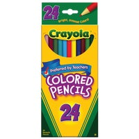 Crayola L L C 24CT COLORED PENCILS 68-4024