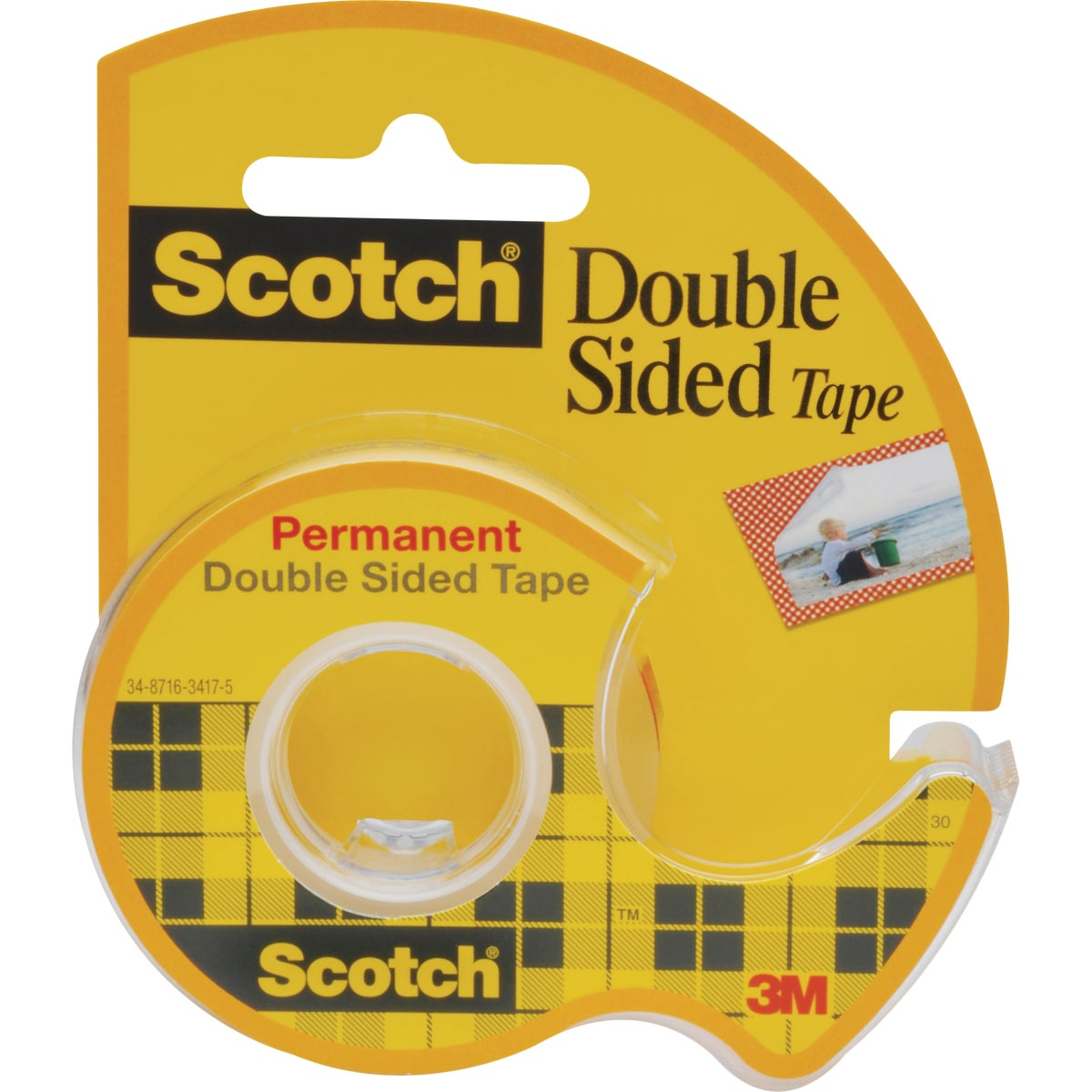""".472"""" DOUBLE STICK TAPE - 136 by 3m Co"""