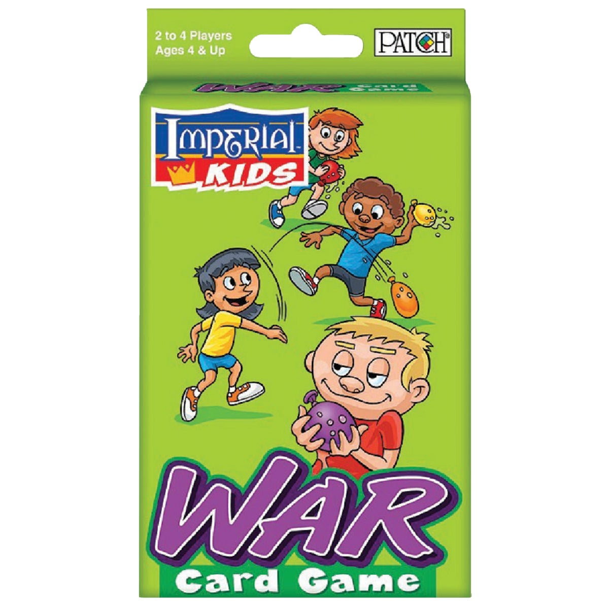 WAR CARD GAME - 1466 by Patch Products