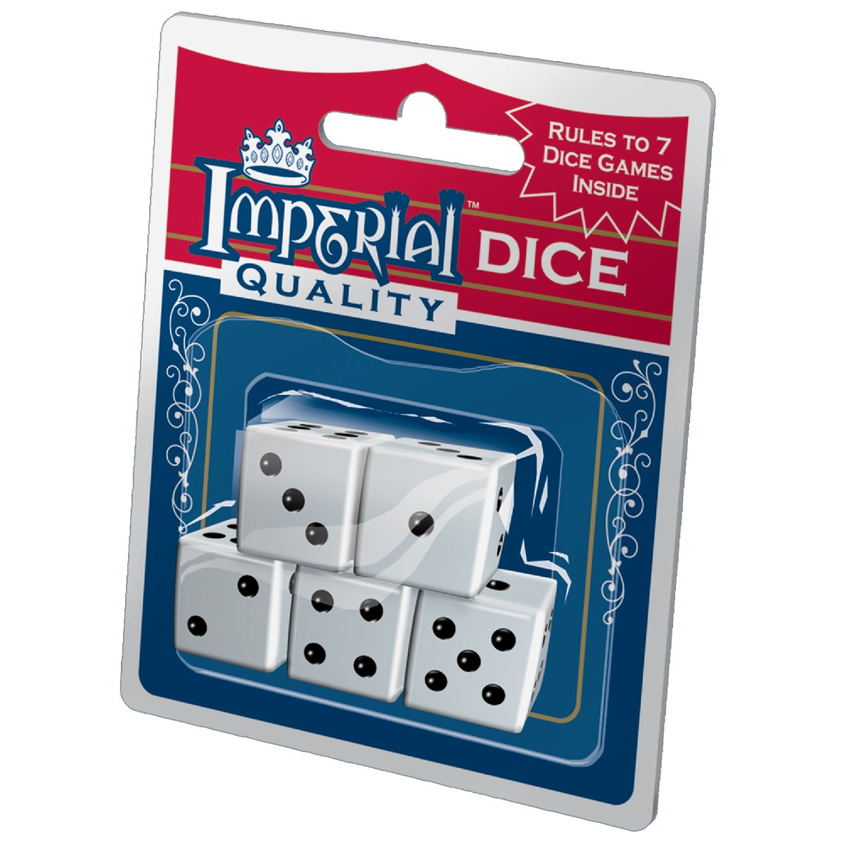 5 PACK DICE - 1454 by Patch Products