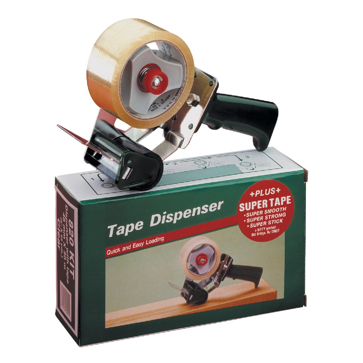 "2"" TAPE W/DISPENSER - D820KIT by Nifty Products"