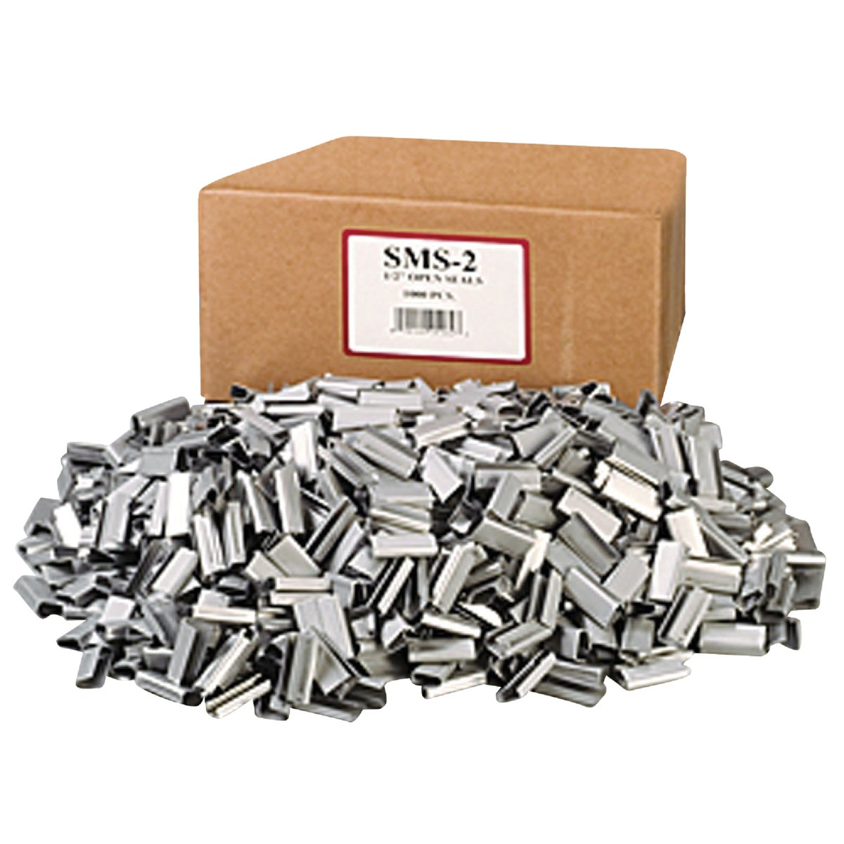"1000PK 1/2"" METAL SEALS - SMS2 by Nifty Products"
