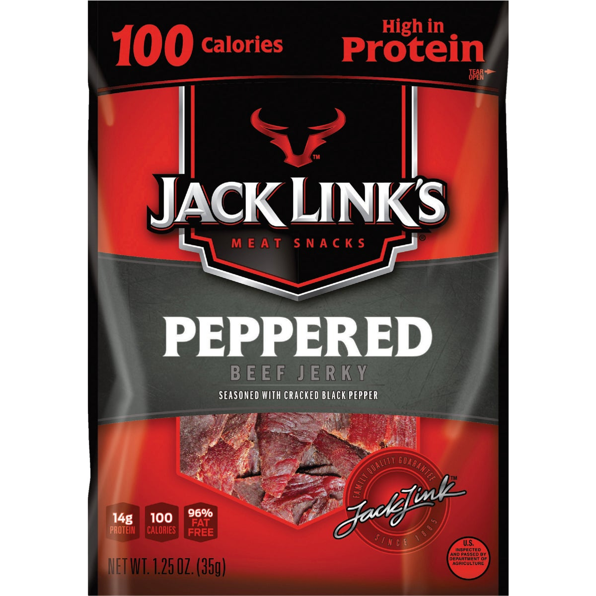 1.5OZ PEPPERED JERKY - 48641 by Jack Links