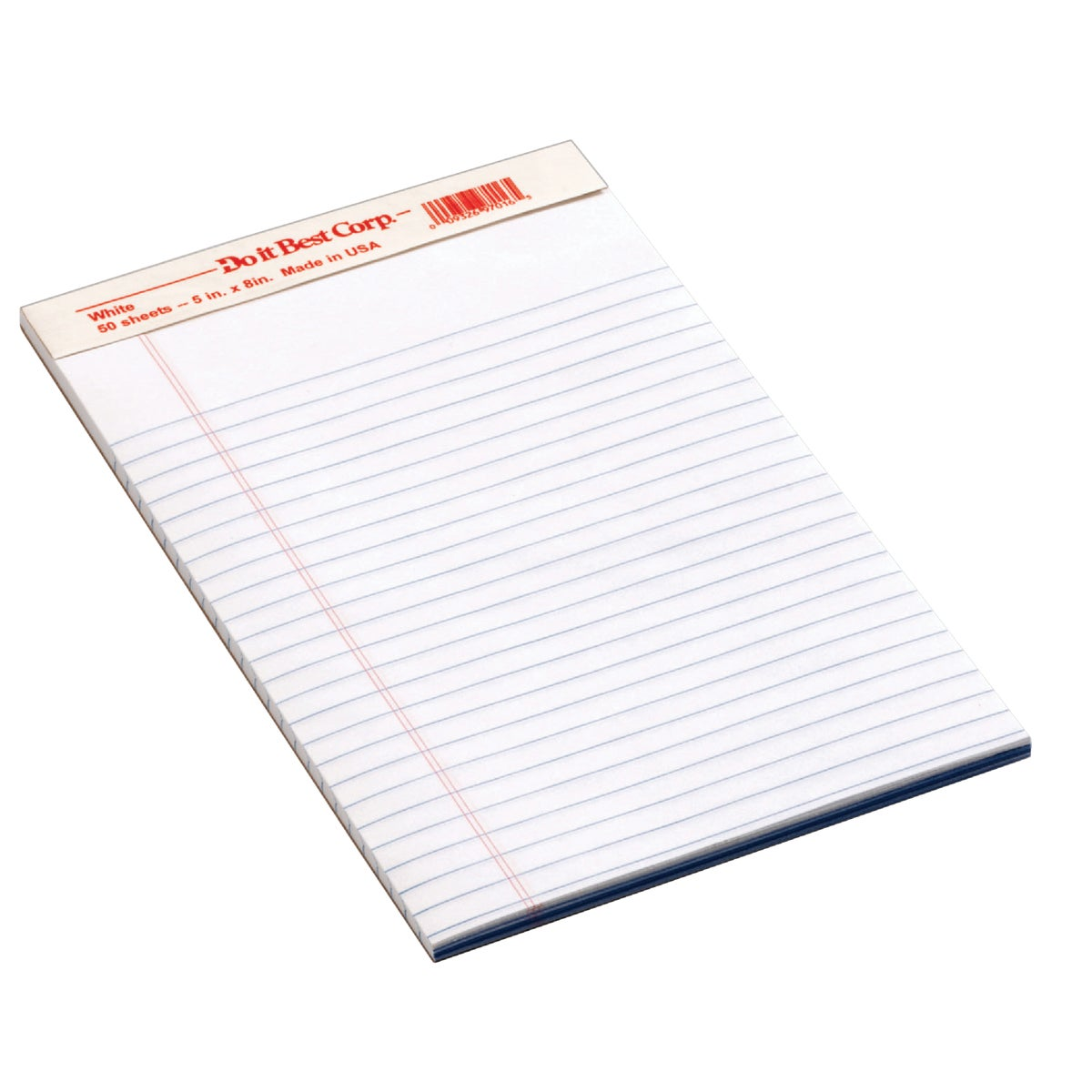 12 5X8 WHT LEGAL PAD - 683241 by Staples