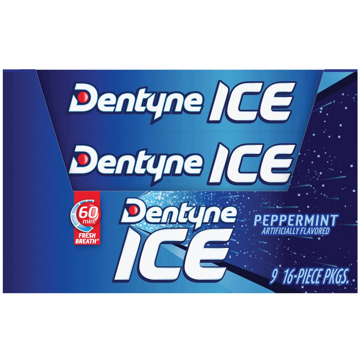 DENTYNE ICE PEPPRMNT GUM - 113762 by Liberty Distribution