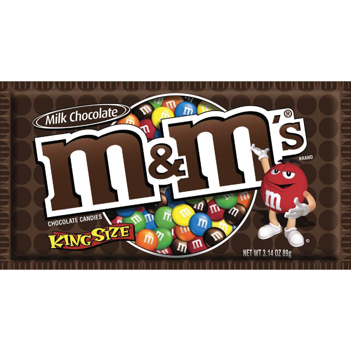 KING SIZE PLAIN M&M - 10014 by Liberty Distribution