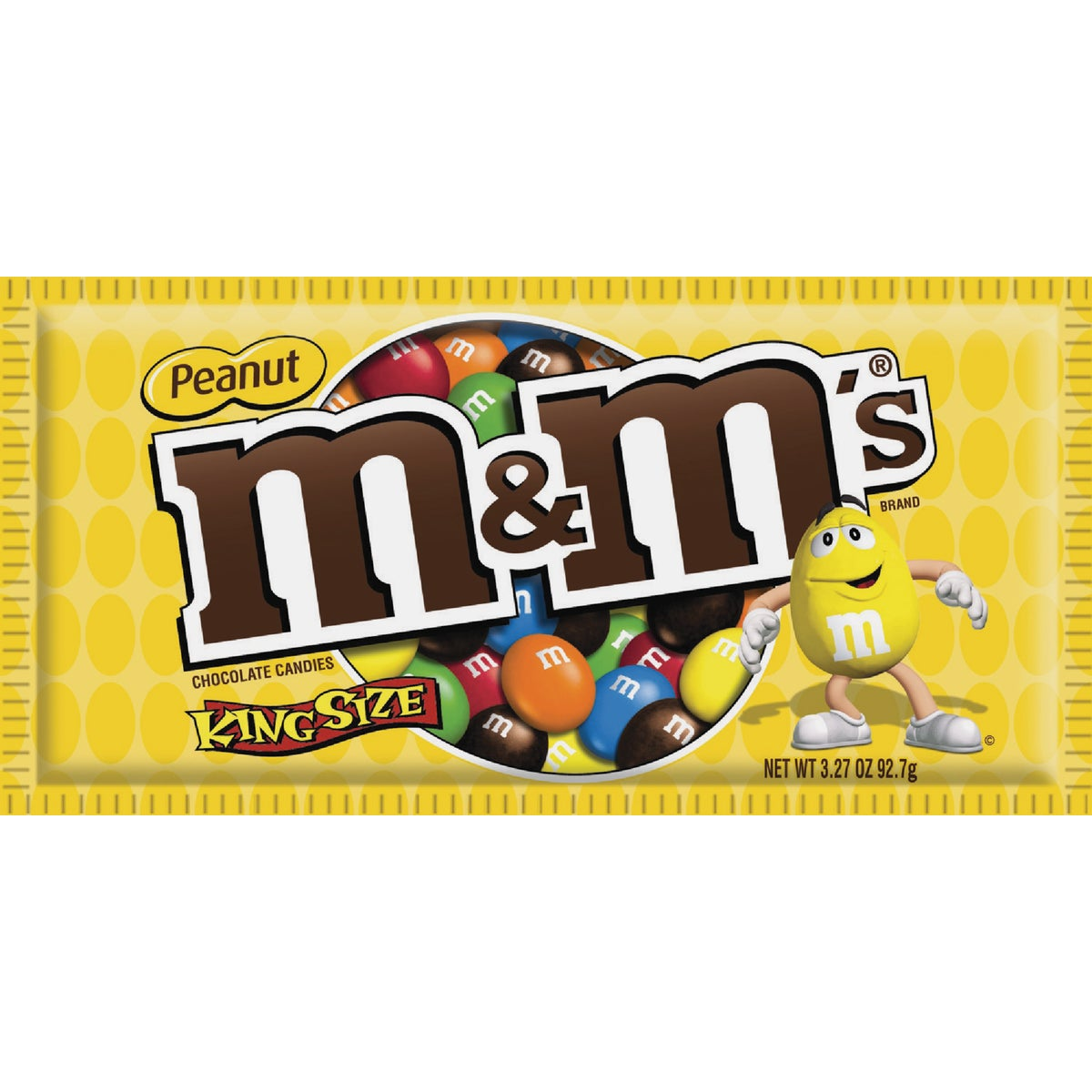 KING SIZE PEANUT M&M - 10015 by Liberty Distribution
