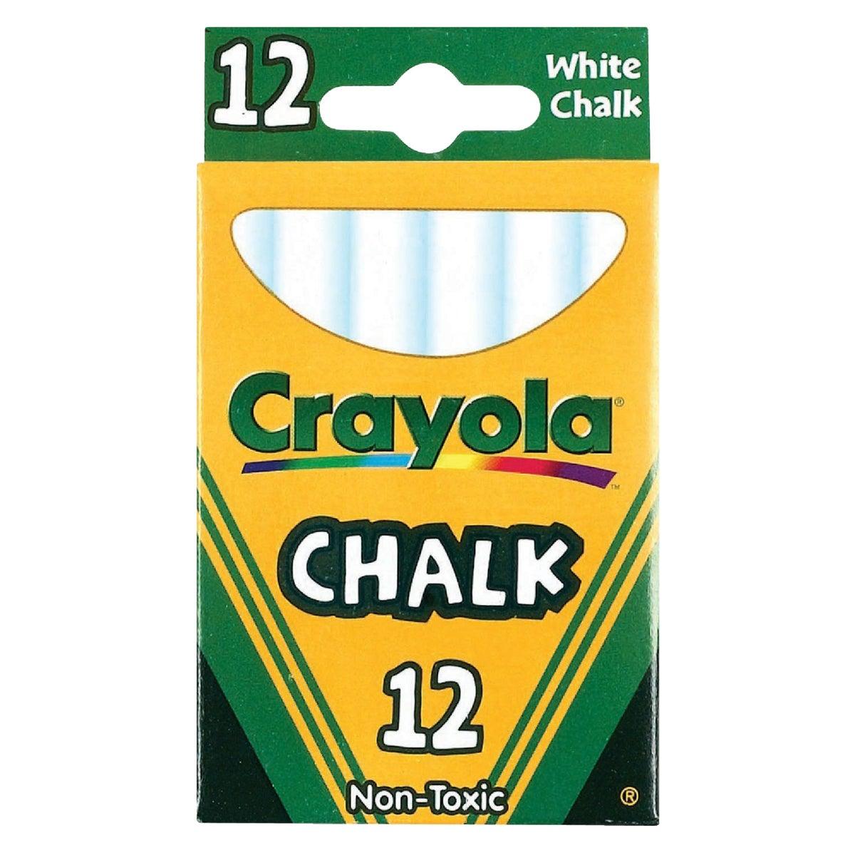 12CT WHITE CHALK - 51-0320 by Crayola L L C