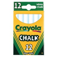 Crayola White Chalk, 51-0320