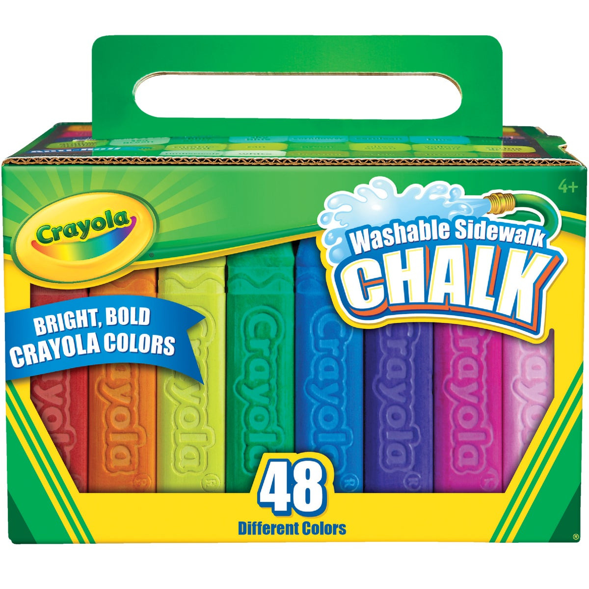 48CT SIDEWALK CHALK - 51-2048 by Crayola L L C